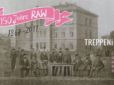 Treppening am 01. April im BWH